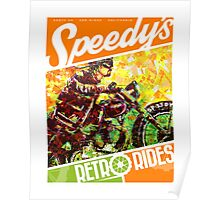 SPEEDY'S RETRO RIDES V.03 / GRAPHIC POSTER  Poster
