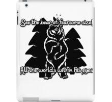 Bear Beam Rhyme - Shardik iPad Case/Skin