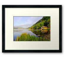The Boathouse Framed Print