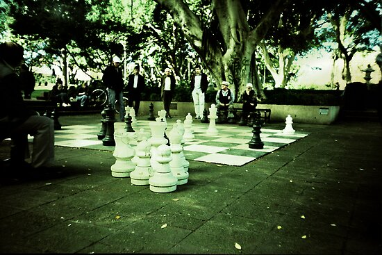 Street Chess by Una Bazdar
