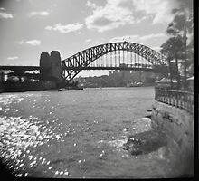 Sydney Harbour by Una Bazdar