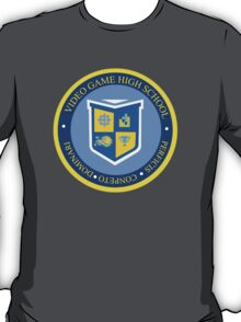 the crest of video game high school  T-Shirt