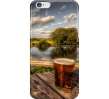 a pint with a view iPhone Case/Skin