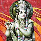 Lord Krishna by artyrau