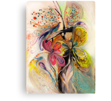 The Splash Of Life. Composition 3 Canvas Print