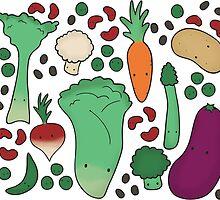 Veggie Delight by pinkishgluestik