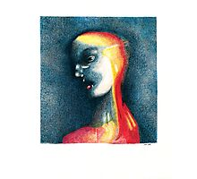 A bright face Photographic Print