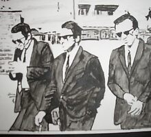 Reservoir Dogs by Colin  Laing
