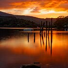 Sunset at Derwent Water by JMChown