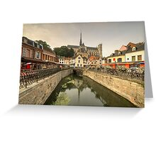 Amiens Reflections  Greeting Card