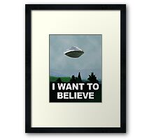 Flight of the X Files Framed Print