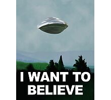 Flight of the X Files Photographic Print