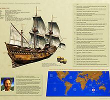 Drake's circumnavigation of the globe by 3dHistory
