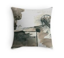 three rivers Throw Pillow