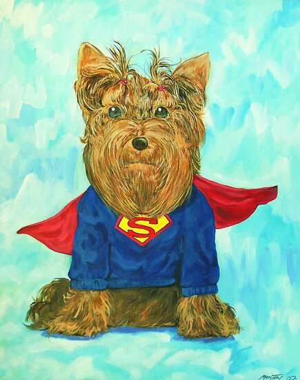 SuperDog by Siameseboy
