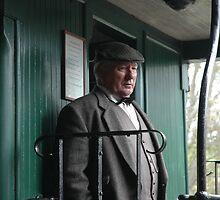 Man on Train by Austin Rattray