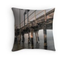 Into the mist. Throw Pillow