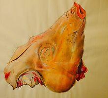 Pig head by Ellen McAleavey
