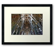 Gaudi's Dream Framed Print