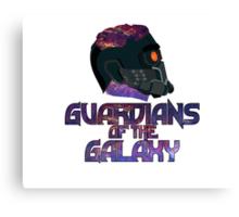 Star-lord GOTG Logo Alt Canvas Print