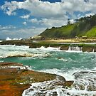Shoreline Falls by Terry Everson