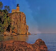 Sunset at Split Rock by Mike Griffiths