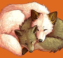 Mother and Cub by SerPotato