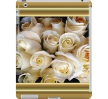 Candle Light Bouquet ~ White Roses iPad Case/Skin