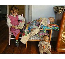 The Babysitter Photographic Print