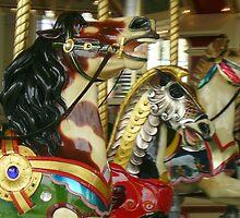 PTC Carousel - Indian Pony by skyhorse