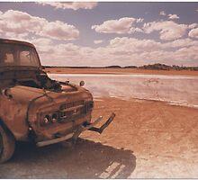 Salt lake truck Kalgoorlie WA 1990 by AndrewBentley