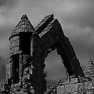 Haughmond Abbey Turret by Aggpup