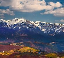 Mountains landscape by naturalis