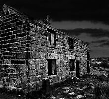 Derelict Cottage by David J Knight
