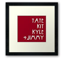 Tate Kit  Kyle Jimmy  Framed Print