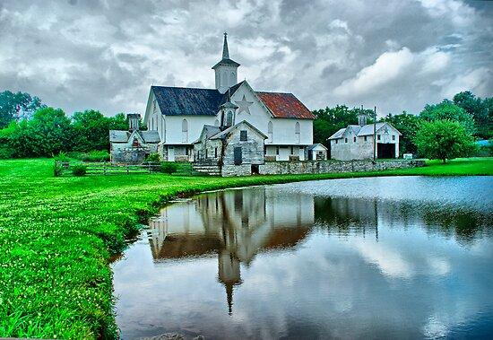 Star barn near Harrisburg, pa by al holliday
