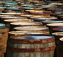 Islay Whisky Barrels by Kate Powick