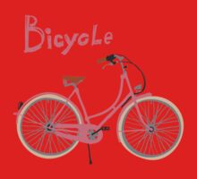 Vintage bicycle Kids Clothes