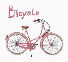 Vintage bicycle Kids Clothes