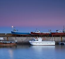 Seahouses Stack by Jeanie