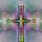 Jeweled Cross by Gordon  Beck