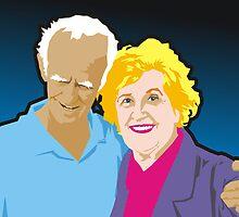 Frank and Laurine by Matt Mawson