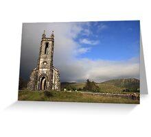 Dunlewey church Greeting Card