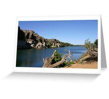 Geike Gorge Greeting Card