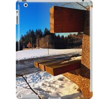 Winter afternoon point of view | landscape photography iPad Case/Skin