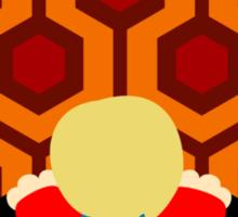 The Shining Boy Sticker