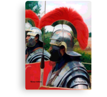Roman Soldiers Canvas Print