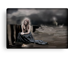 Out of the Storm Canvas Print