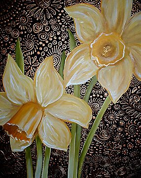 Daffodils by Cherie Roe Dirksen