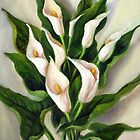 Calla Lilies by Randy  Burns